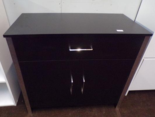 Two door, one drawer sideboard