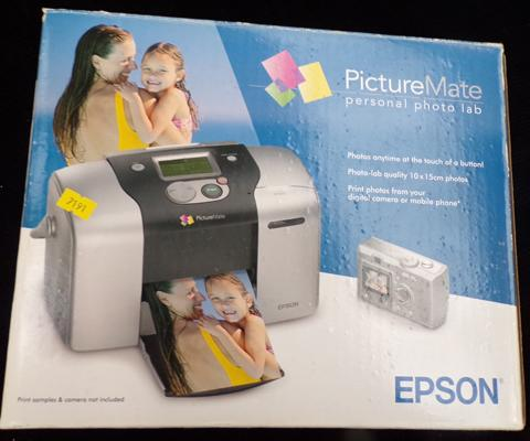 Epson picture mate - photo lab