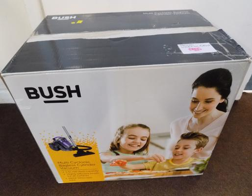 New Bush Cyclonic bagless cylinder vacuum cleaner - W/O