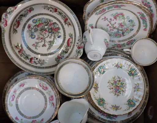 Selection of china, incl. Duchess