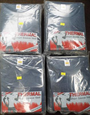 40 thermal t-shirts (small)