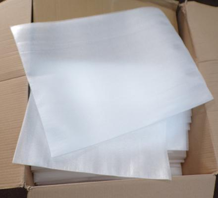 Large box of polystyrene - mainly pouches