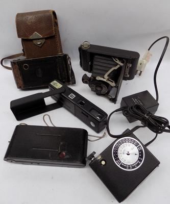Selection of vintage cameras