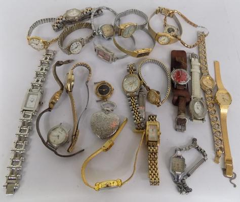 Lot of ladies watches