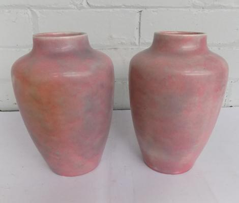 "Pair of Minton vases - no damage - approx. 10"" high"
