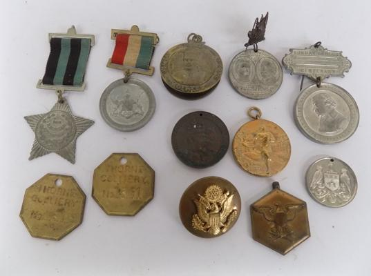 Lot of medallions/tokens etc...