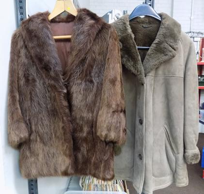 Two vintage coats