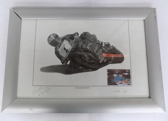 Ltd drawing of Niall Mackenzie by K.Webster (13 of 350) - signed