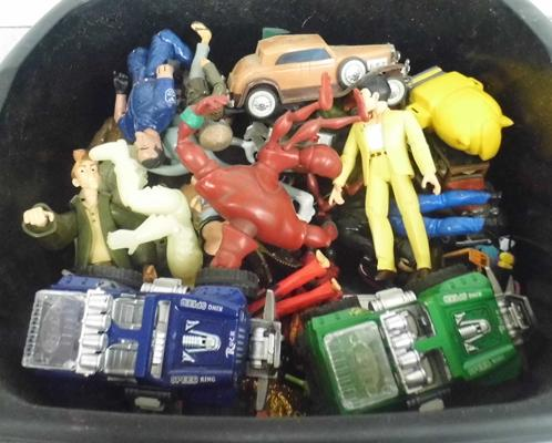 Large selection of vintage action figures
