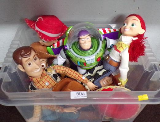 Toy story, large figures - Jess/Woody/Buzz