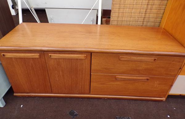 2 drawer low sideboard - retro style