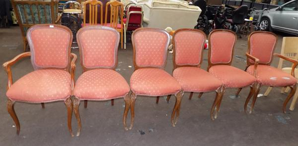 6x Dining chairs (require upholstery)