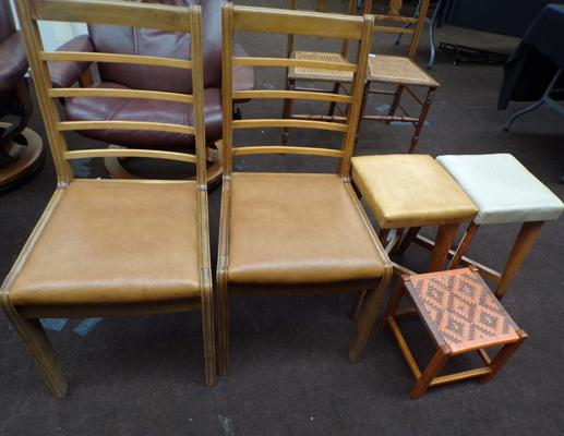 Selection of chairs & stools