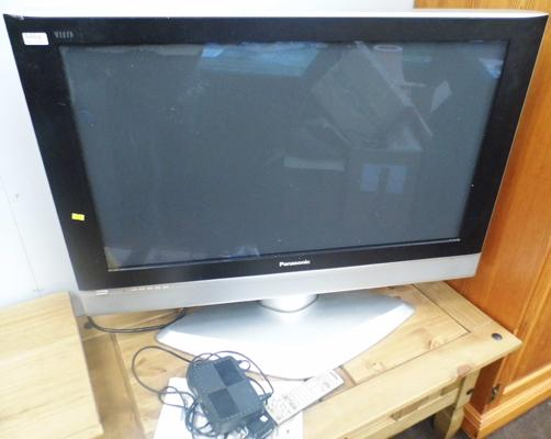 Panasonic T.V with freeview box, remote and manual W/O