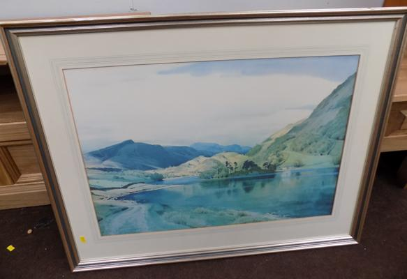 Large framed print by W. Horton Cooper , approx. 33 inches by 26 inches