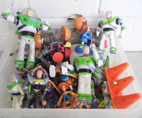 Approx 64 x Toy Story figures - medium/small/very small