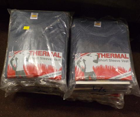 40 thermal vests - small