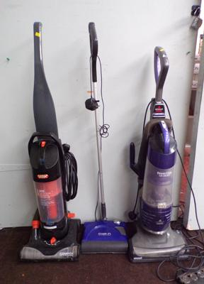 3x Vacuum cleaners inc Gtech & Vax