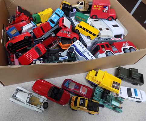 Collection of diecast