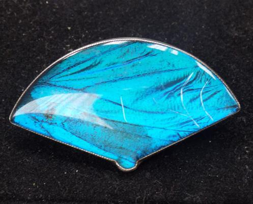 Sterling brooch by TLM England