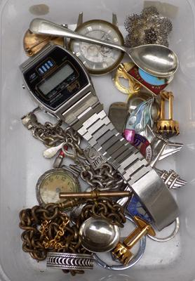 Mixed lot of vintage collectables, incl. silver