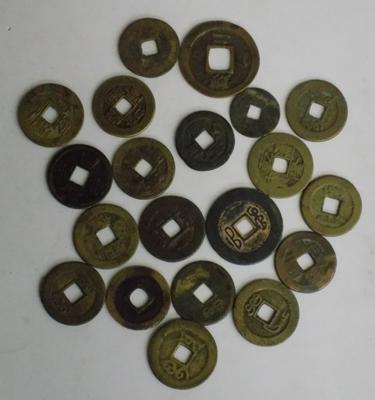 Chinese cash coins