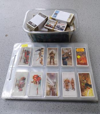 Cigarette cards and others