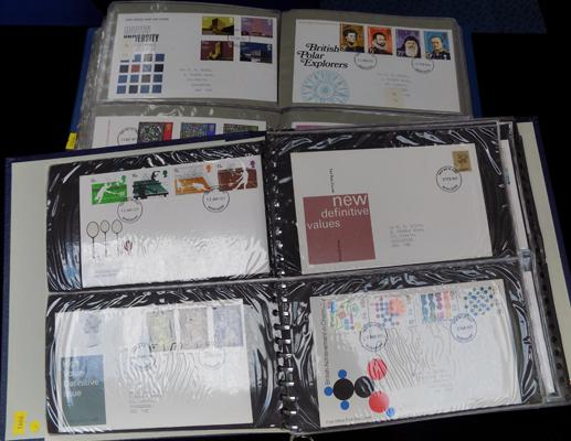 2x Large albums of First Day covers