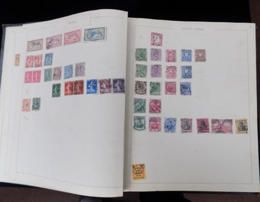 Collection of early European & world stamps