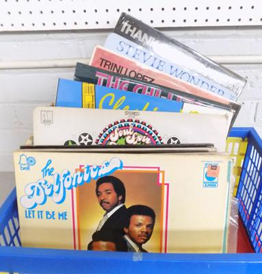 Box of LP's - mainly Motown and Soul