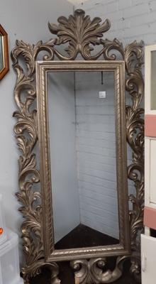 Approx. 8ft ornate frame (some damage to corner)