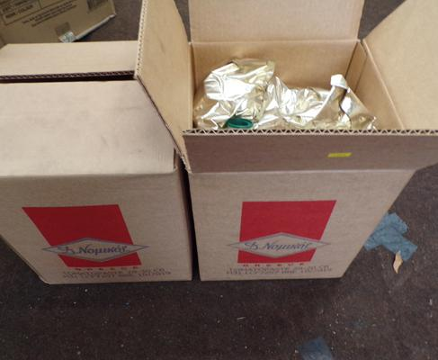 20kg boxes of tomato puree (cost £55 +VAT)