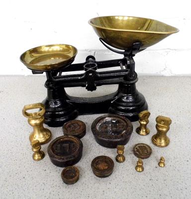 Librasco scales vintage and weights