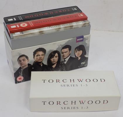 Torchwood DVD series 1-3 (14 discs complete)
