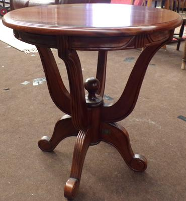 Ancient Mariner round coffee/plant table