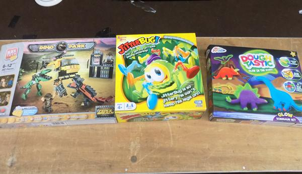 3x New boxed toy sets