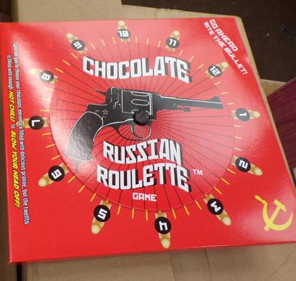 11 x Russian Roulette chocolate games
