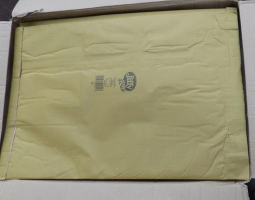 50 size 8 jiffy green bags