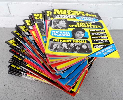 Record collector mags
