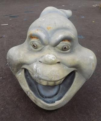 Vintage casper 'Fatso' head - ex prop/ theme park - approx. 12 inches