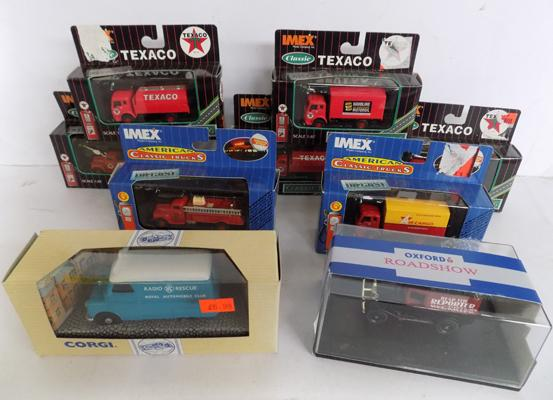 Collection of 9 collectable boxed diecast