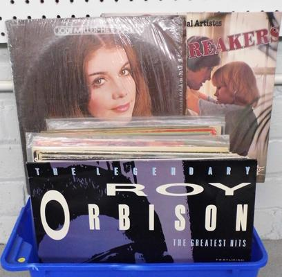 Approx. 50 LP's - Roy Orbison, Shirley Bassey etc.