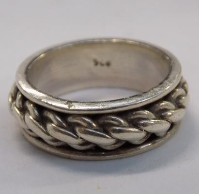 Solid 925 silver ring