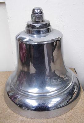 Original bell from West Yorkshire Fire Engine. Circa.1950