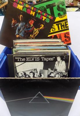 Box of collectable LP's