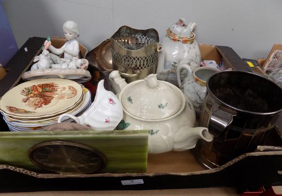 A collection of mixed items, including antiques and collectables