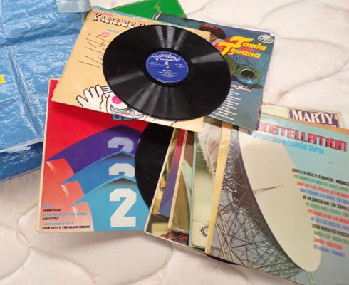 Assortment of LPs, incl. Elkie Brooks, Abba etc...