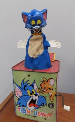 1960's Tom & Jerry jack-in-a-box