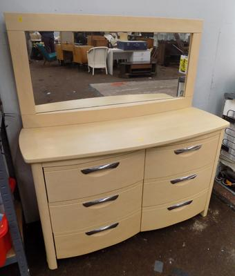 Sideboard and matching mirror
