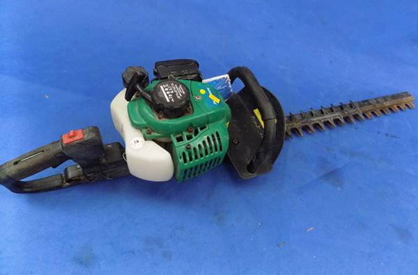 Gardenline petrol hedge trimmer and manual